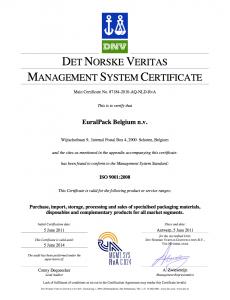 EuralPack - ISO 9001 (EN)