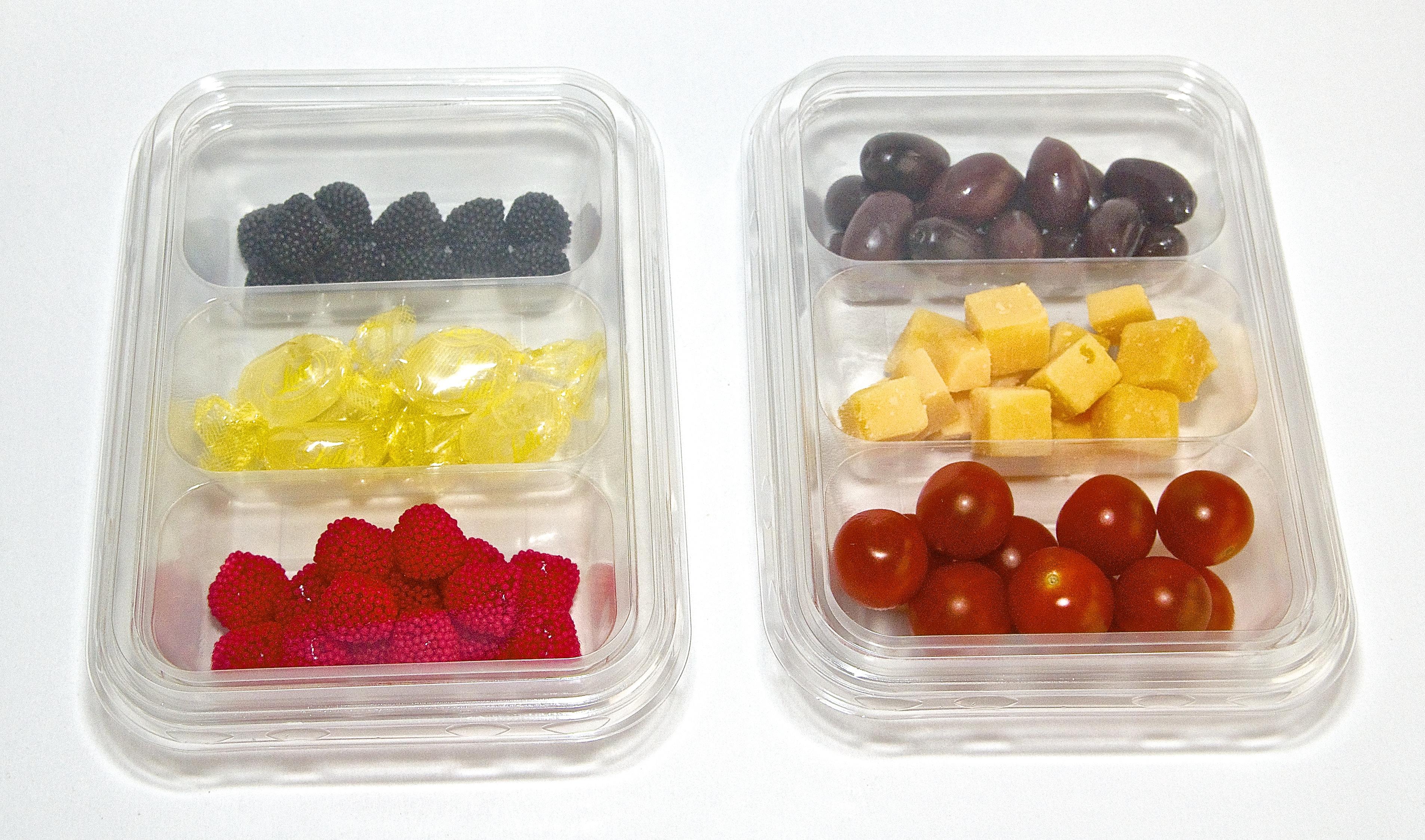 EuralPack 3-compartiments tricolore